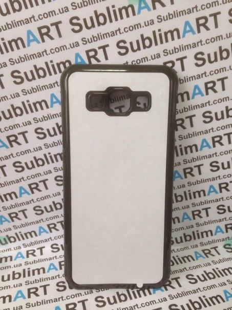 Чехол для 2D сублимации пластиковый на Samsung Galaxy A8 черный