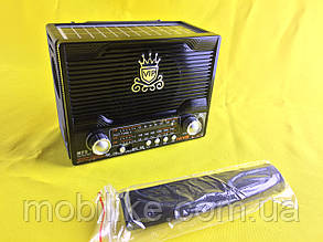 Радіо 1000 мАч NS-1556S з сонячною панеллю (Чорний)