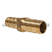 Трубка соединительная 12х12 мм латунь, фото 1