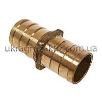 Трубка соединительная 20х20 мм латунь, фото 1