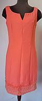 Яркое платье-футляр с кружевом Sovage, фото 1