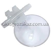 Микрочашечная поилка круглая с 2-мя патрубками, фото 1