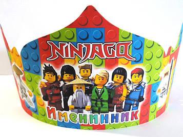 """""""Лего Ниндзяго: Красный"""" - Корона Именинник РУС"""