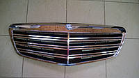 Решетка радиатора на Mercedes S-Сlass W221 рестайлинг оригинал, фото 1