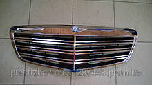 Решетка радиатора на Mercedes S-Сlass W221 рестайлинг оригинал
