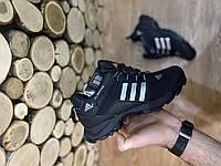 Мужские зимние термо кроссовки Adidas Climaproof black 45 46