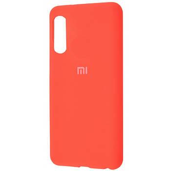 Чехол силиконовый Silicone Cover Full Protective (AA) для Xiaomi Mi 9 SE Оранжевый / Orange
