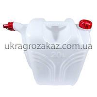 Канистра пластиковая с носиком 15л., фото 1