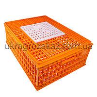Маленький ящик для перевозки птицы с раздвижной верхней дверкой 75x55x27, фото 1