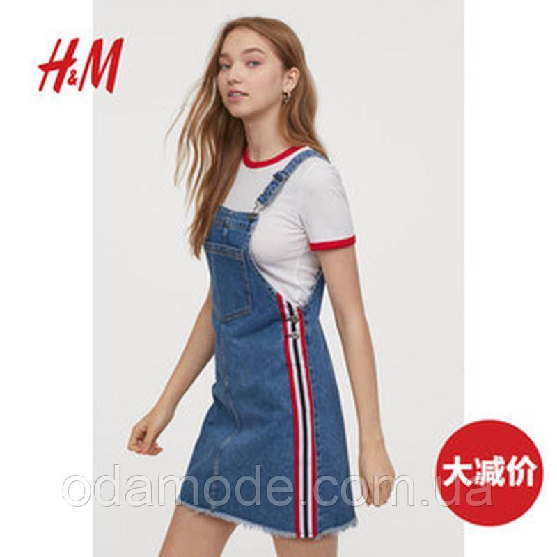 Женский джинсовый  сарафан H&M