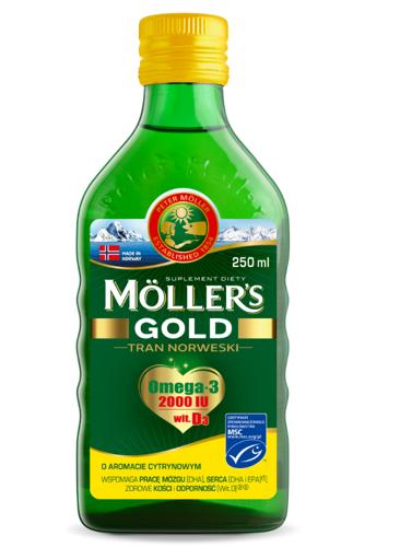 Mollers tran GOLD omega-3 норвезький риб'ячий жир 250 мл