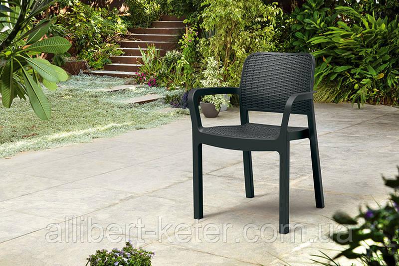 Стул садовый уличный Allibert by Keter Bella Chair