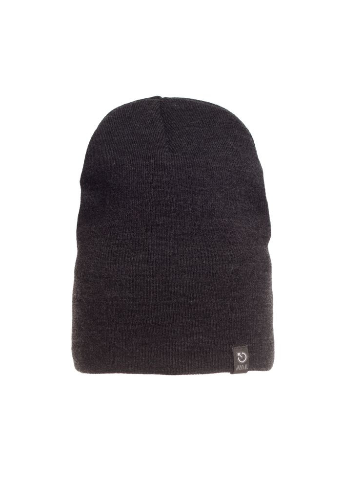 Зимняя модная качественная вязаная мужская шапка.
