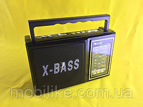 Радіо з яскравим ліхтарем Golon RX 166 LED