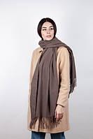 Шарф широкий женский модного цвета