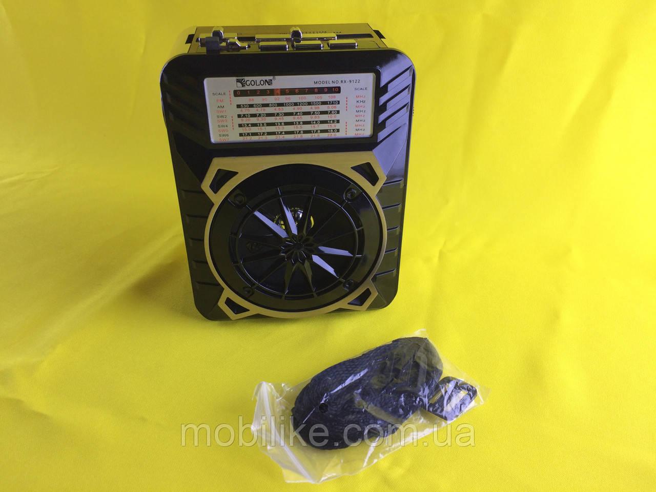 Мощный Радиоприемник GOLON RX-9122 Синий