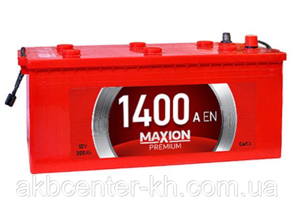 Аккумулятор для грузовиков MAXION 6СТ-200А1 1400A