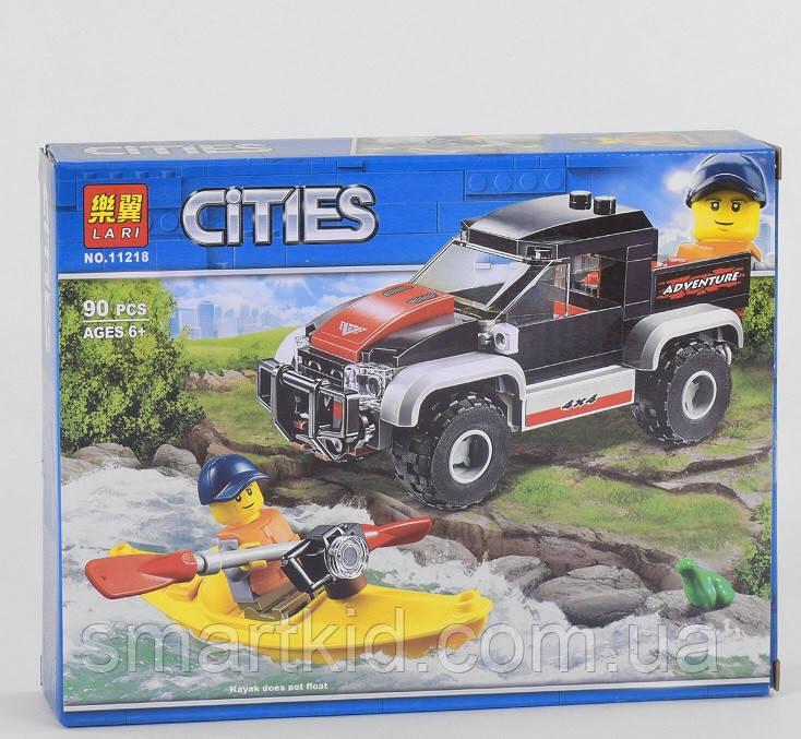 Конструктор Lari Cities 90 деталей, в коробке
