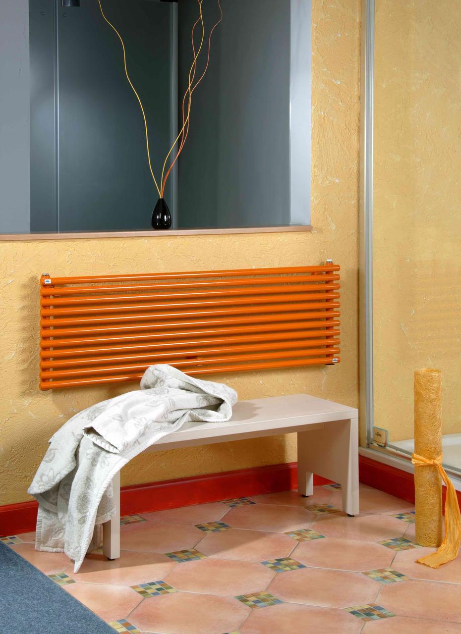 Дизайнерский горизонтальный трубчатый радиатор Betatherm Praktikum