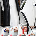Универсальный уплотнитель для автомобильной двери уплотнитель двери звукоизоляция комплект 2 шт. по 82 см., фото 9