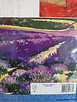Картина  по номерам на холсте Цветущее лавандовое поле №00013442 ROSA START