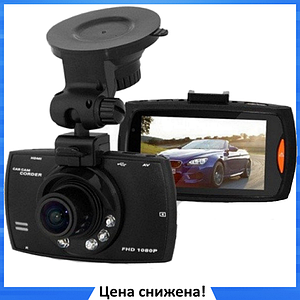 Автомобильный видеорегистратор G30 Full HD 1080P Черный