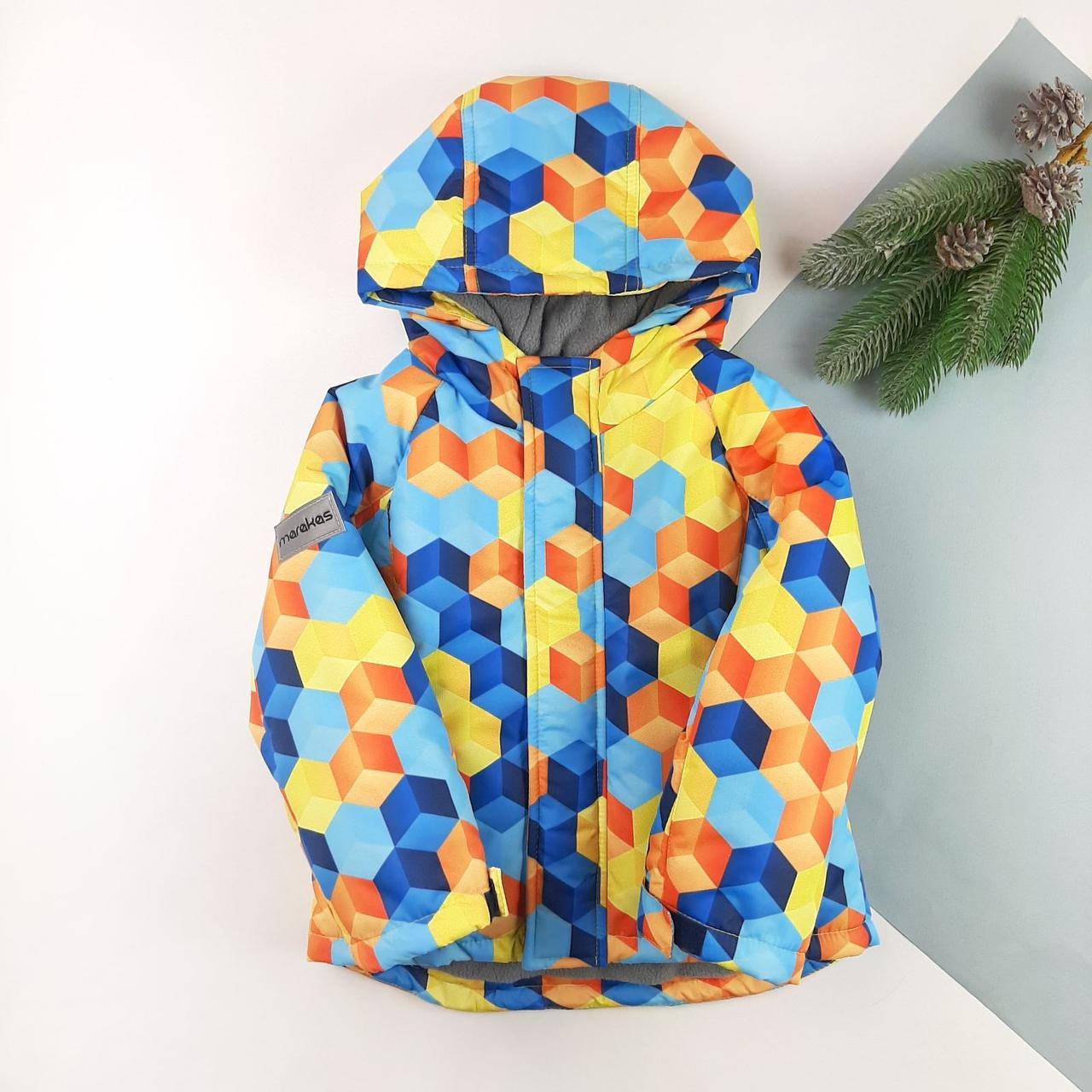 Детская зимняя куртка для мальчика 92, 98, 104, 110, 116, 122
