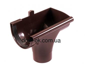 Profil Ливнеприемник правый, система 130/100 RAL 8017 коричневый