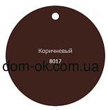 Profil Ливнеприемник правый, система 130/100 RAL 8017 коричневый, фото 2