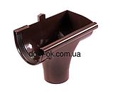 Profil Ливнеприемник правый, система 130/100 RAL 8017 коричневый, фото 10
