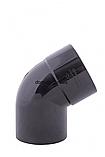 Profil Колено ø 75/60°, система 90/75 RAL 3005 вишневый, фото 10