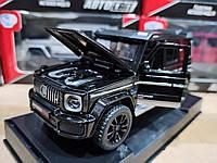 Игрушка машина модель Мерседес Бенц (Mercedes-Benz).Железные игрушечные машинки Гелендваген (Гелик) Черная