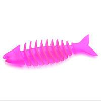 Массажор для десен Рыбка малая Sum-plast игрушка резиновая для собак 14 см