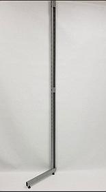Рейка-опора h2.2двурядная, прис-ная металлик
