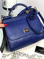 Женская сумочка DOLCE & GABBANA 'Sicily' натуральная кожа (реплика), фото 1
