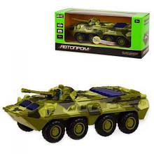 "UKR Модель танк PLAY SMART 6409D ""Автопарк"" метал.инерц.батар.зв.світло кор.17*6,5*8 ш.до./96/"