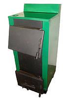 Твердотопливный котел 20 кВт с водонагревом Огонек КОТВ-20В