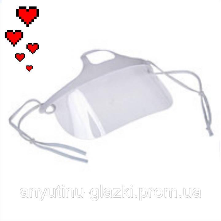 Маска защитная для мастера (пластик)