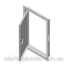 Двери ревизионные крашенные ДР 4060  белые