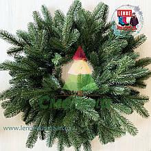 Венок рождественский Элит зеленый