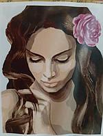 Картина  по номерам на холсте Нежная красота KH04687 Идейка