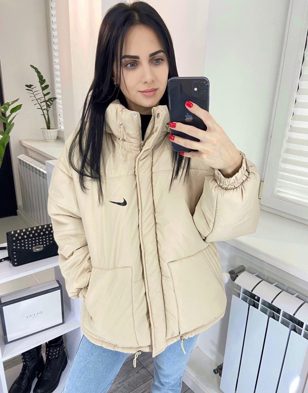 Куртка женская  плащевка канада + синтепон 200, пять цветов