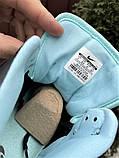 Кросівки Nike Air Jordan 1 Retro білі з мятою. Кроссовки Найк Аир Джордан 1 Ретро демисезонные, фото 2