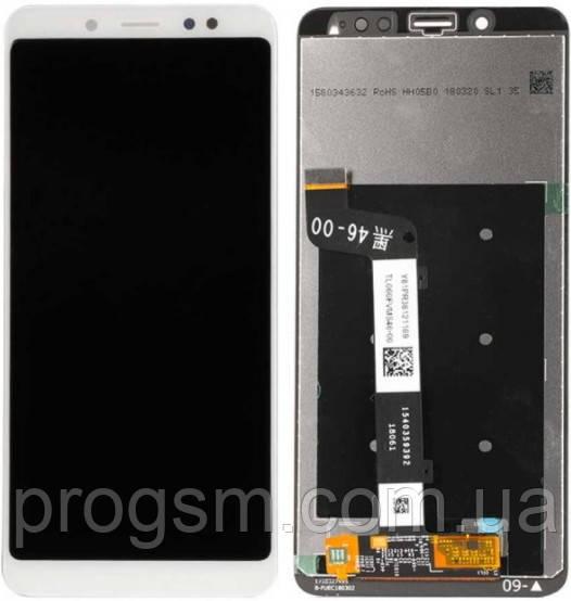 Дисплей Xiaomi Redmi Note 5 / Redmi Note 5 Pro complete White (REF) Original