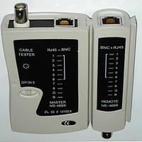 NS-488 кабельный тестер витой пары, BNC для проверки кабелей типа LAN и коаксильного кабеля