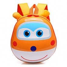 Orteker Рюкзак детский Orteker 3D дошкольный Super Wings Супер Вингс Супер крылья Донни оранжевый