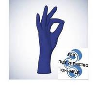 Рукавички нітрилові БЕЗ пудри AMPRI COBALT BASIC-PLUS розмір M
