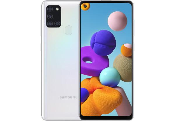 Смартфон Samsung Galaxy A21s 3/32GB White