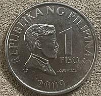 Монета Филиппин 1 песо 2009 г.