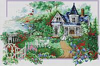 Алмазна мозаїка Пори року. Літо DM-292 82х55см Повна зашивання. Набір алмазної вишивки
